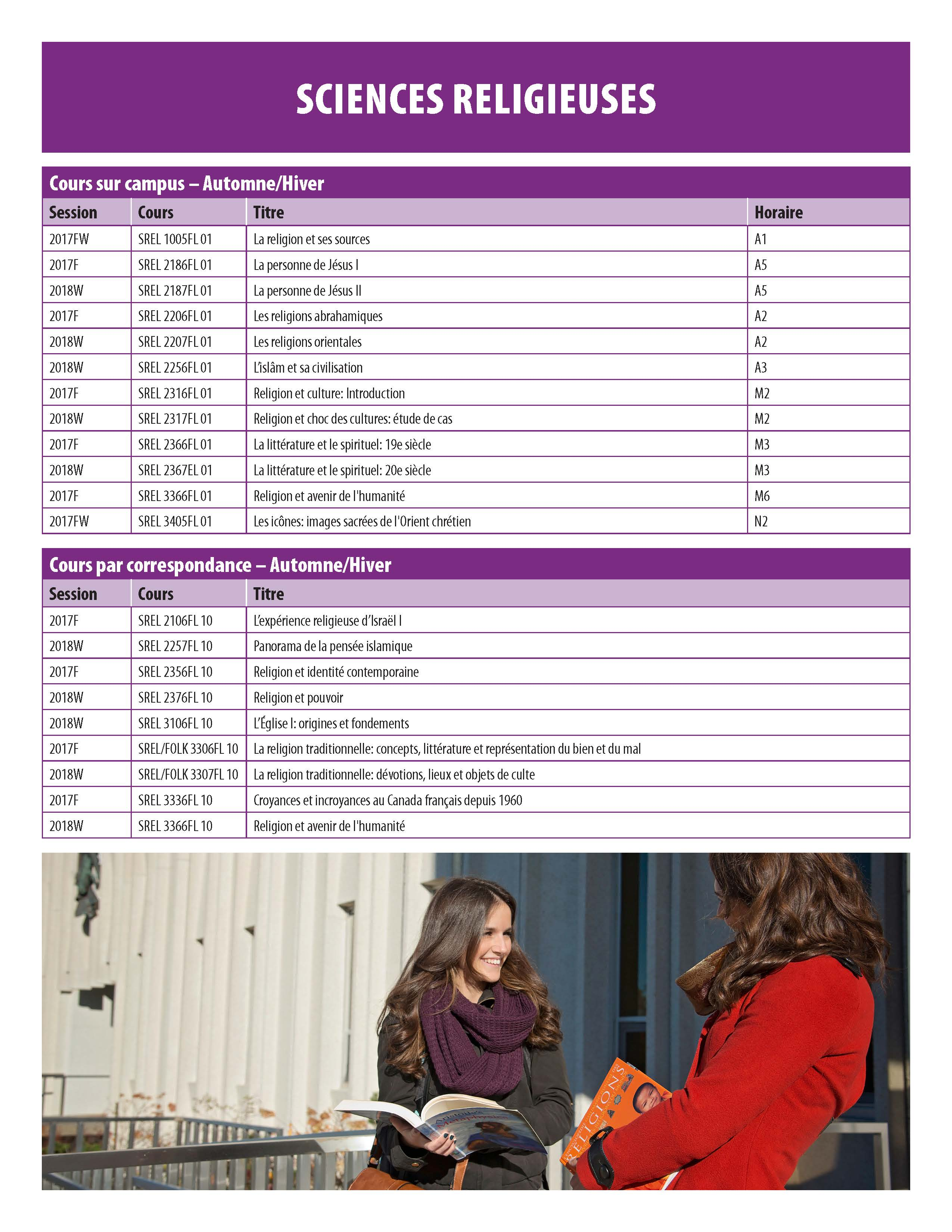 US CourseTimetable Sept 2017 Page 10